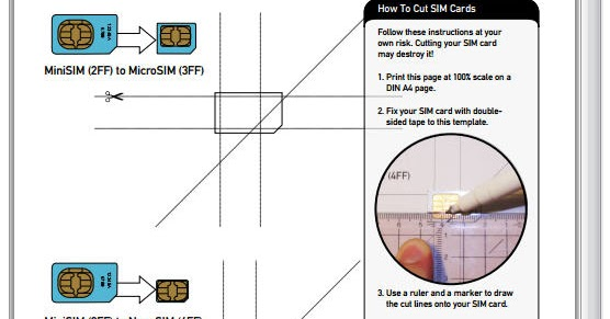 T T D X  How To Cut Your Own Nano Sim Card For Your Iphone