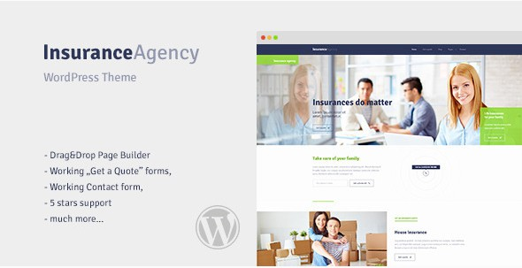 Insurance WordPress Theme