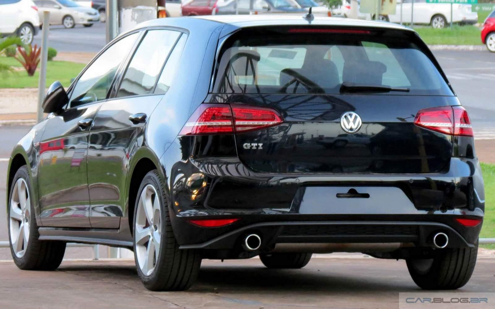 VW Golf GTI 2015 - Preto