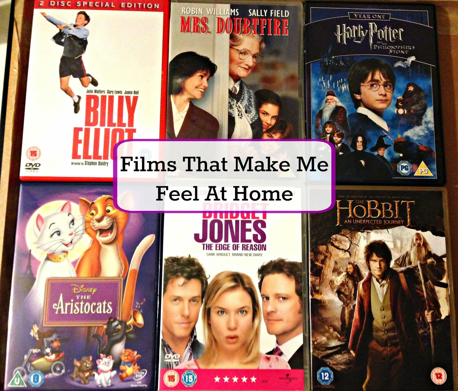 Films That Make Me Feel At Home