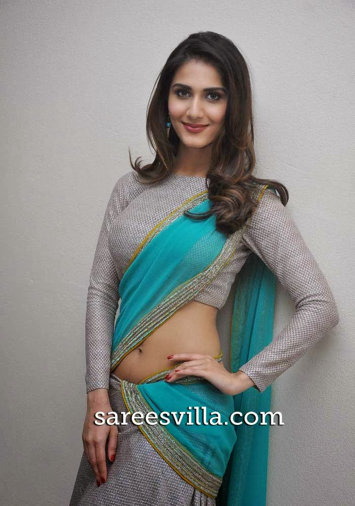 Vaani Kapoor In Full Sleeves Blouse