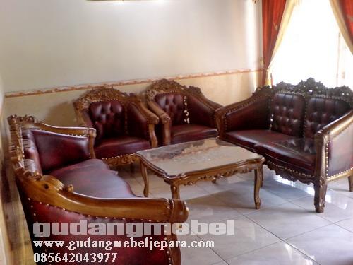 Toko Furniture | Mebel Murah | Kursi Tamu | Jati