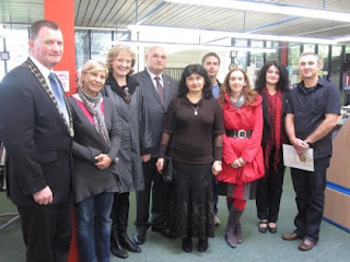 Bulgarian Ambassador to Ireland visits Clare County Library