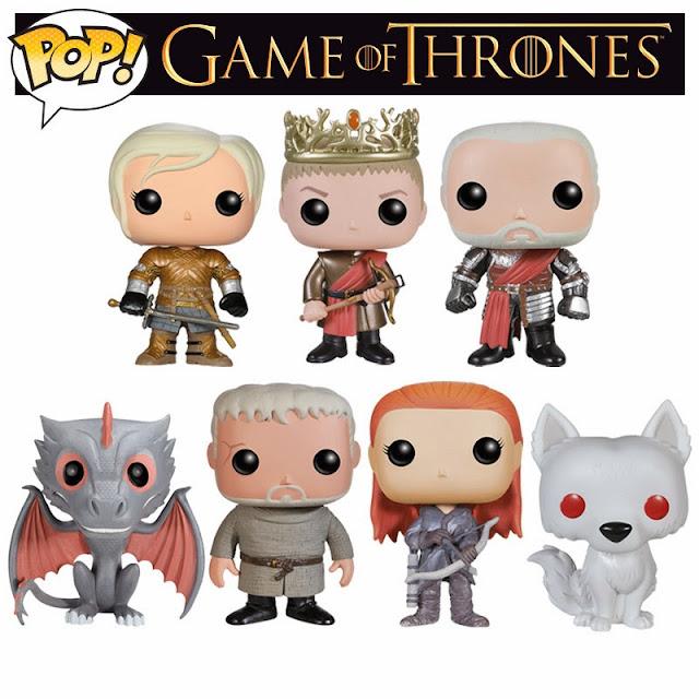 nuevos muñequitos funko pop de juego de tronos - Juego de Tronos en los siete reinos