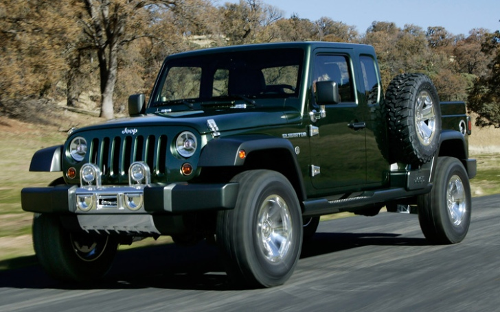 Jeep Wrangler Due in 2016 Will Come In Pickup Truck Form