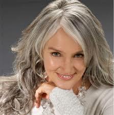 HAIR INK.: CURLY LONG GRAY HAIR LADIES