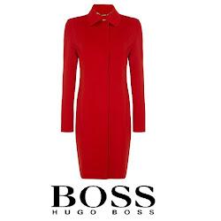 Queen Letizia HUGO BOSS Cegina Mix Coat
