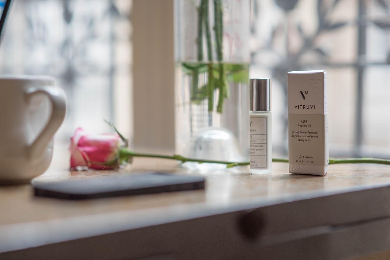 coco and vera, top paris travel blog, vitruvi aromatherapy oil, roses, paris work space style, everyday je ne sais quoi, paris, travel