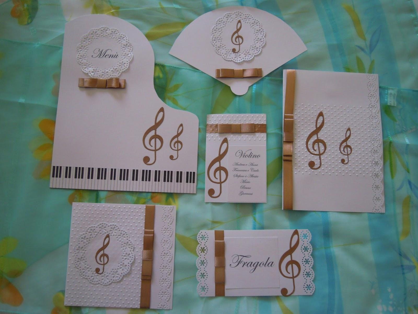 Matrimonio Tema Musicale : Partecipazioni sognicreativi wedding and events nuova