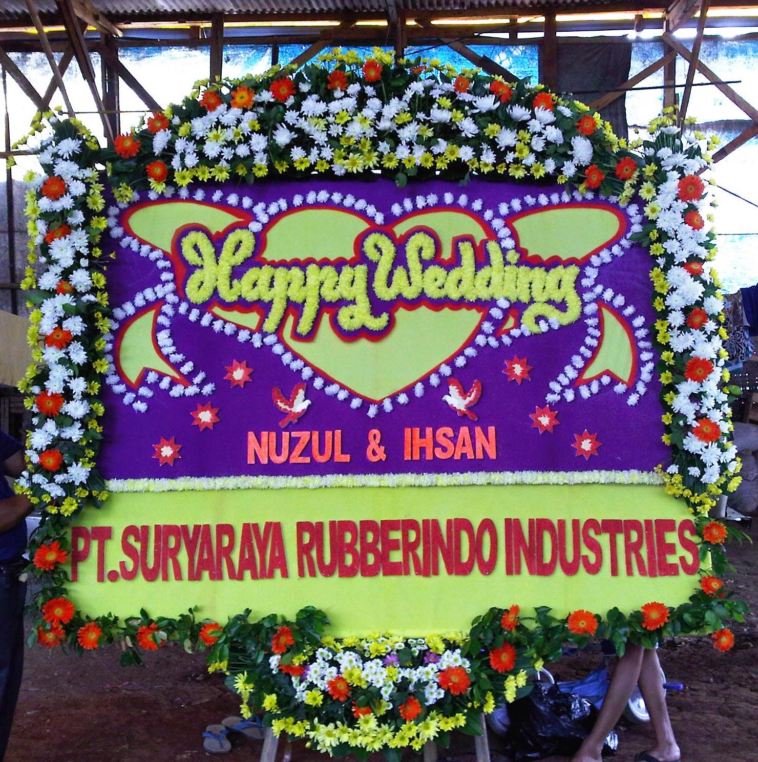 Toko Bunga Cikarang - Bunga Papan Pernikahan