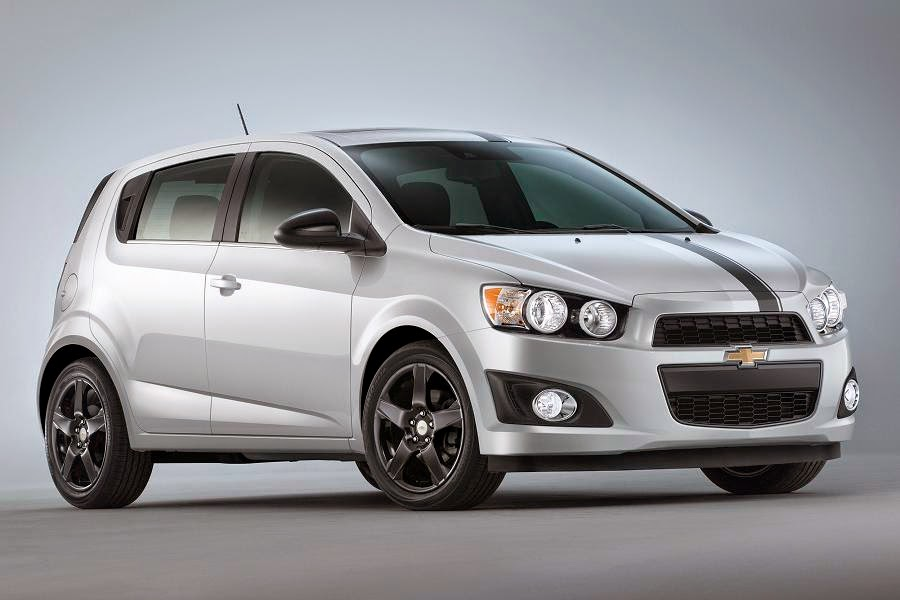 Chevrolet Sonic Accessories Concept (2015) Front Side