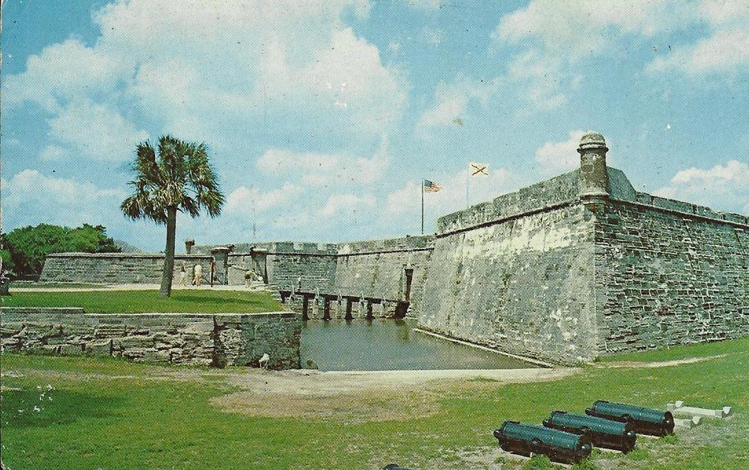 St Augustine Florida on Castle Portcullis