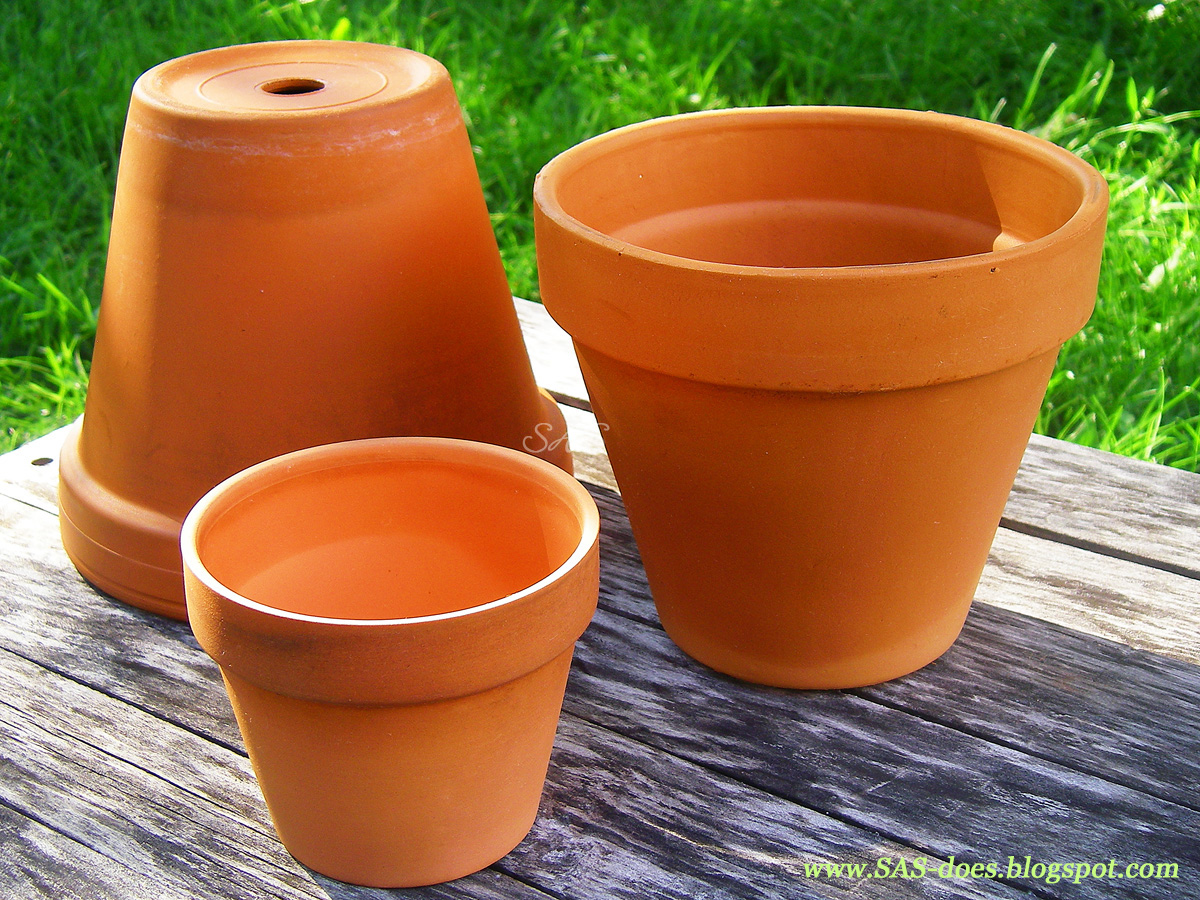 how to clean terracotta pots uk
