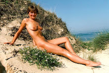 Premire sortie naturiste sur plage.