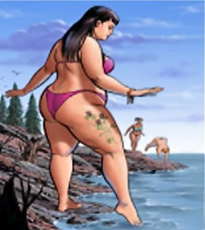 Fotos gordas, gorditas y rellenitas, mujeres obesas