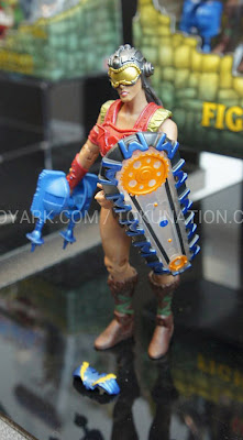 Mattel Matty Collector 2013 Toy Fair Display - Masters of the Universe MOTU Classics Fighting Foe Men figures