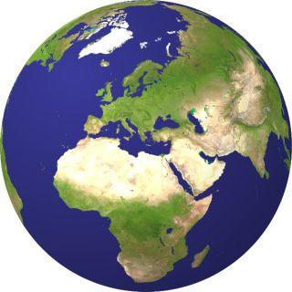verdenskort globus