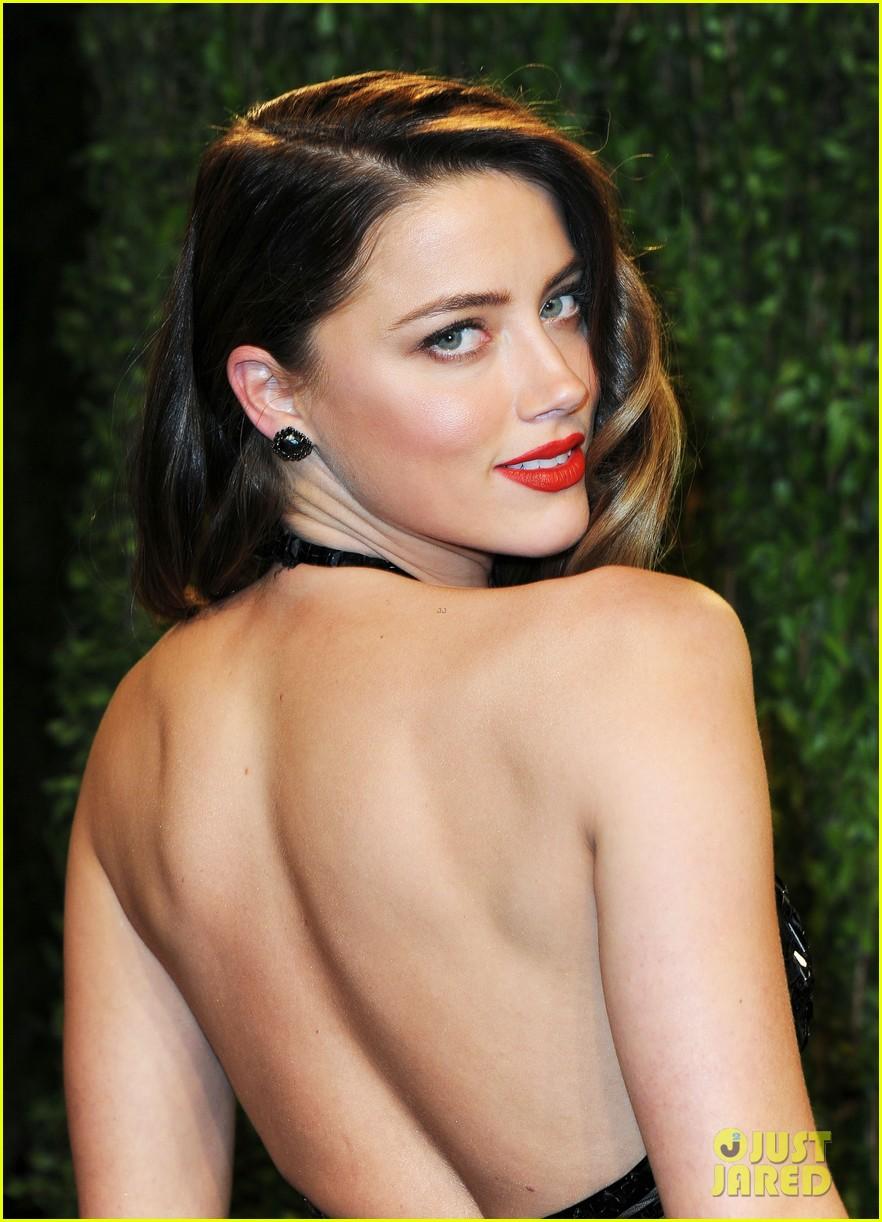 Celeb Diary: Amber Heard @ 2013 Vanity Fair Oscar Party