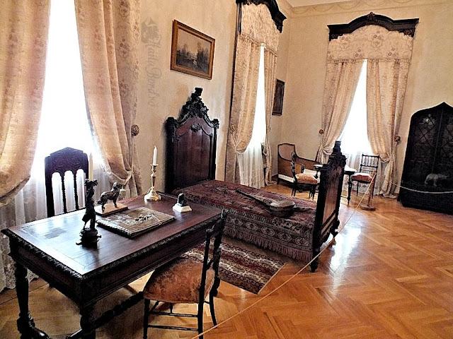 dormitorul copiilor palatul ruginoasa