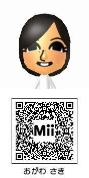 小川紗季(スマイレージ)のMii QRコード トモダチコレクション新生活