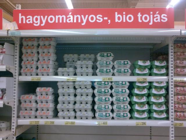 Auchan, Óbuda, hipermarket, Budapest, Szentendrei út, III. kerület, vicces, biotojás