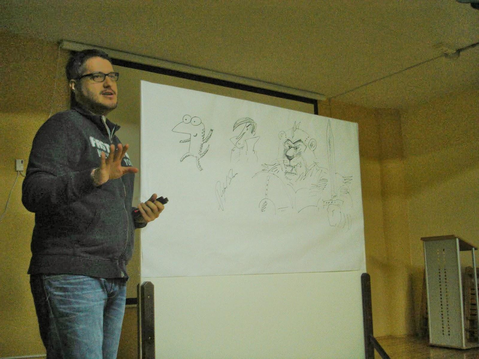 Rafael Salmerón en el IES María Zambrano