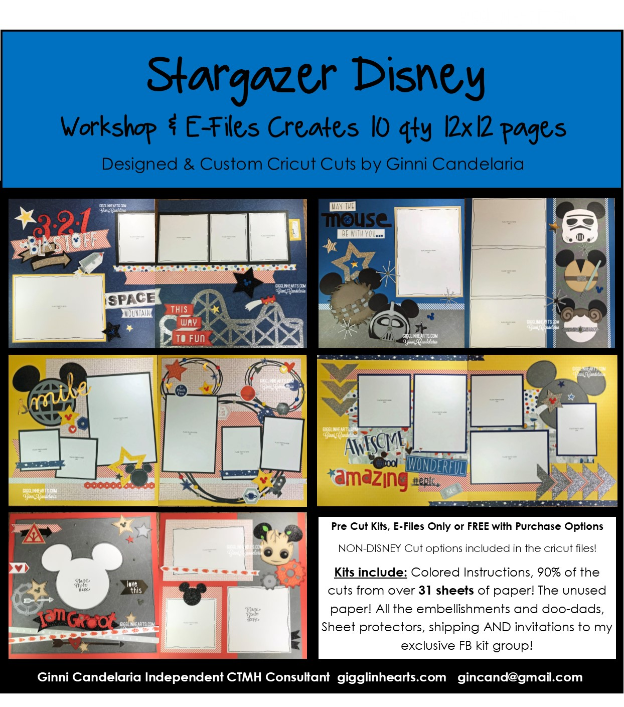 THIS Just IN 3 STARGAZER Kits - email me to order