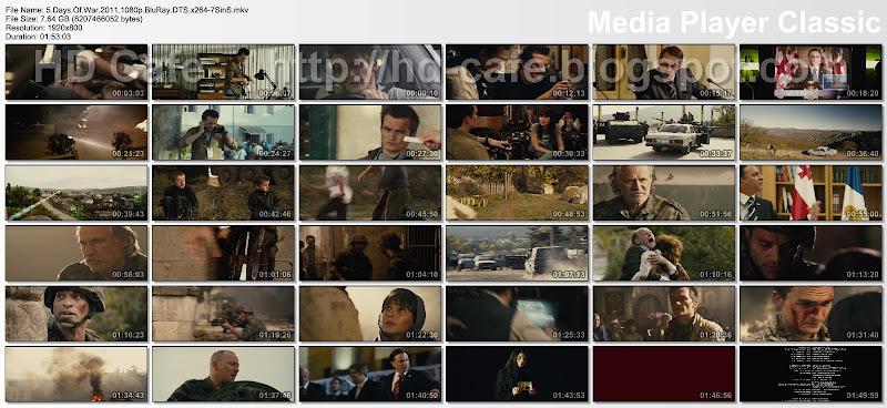 5 Days Of War 2011 video thumbnails