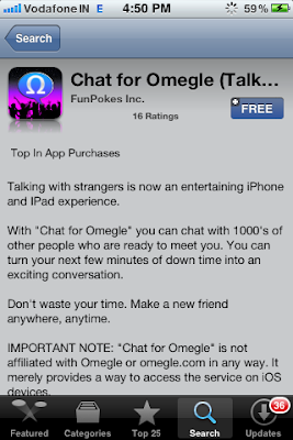 omegle iphone app