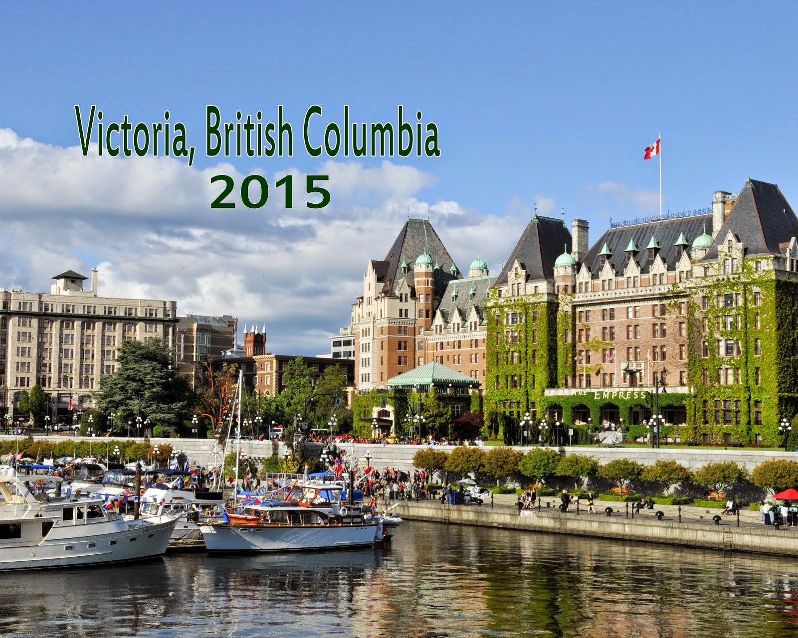 Victoria. British Columbia Calendar 2015