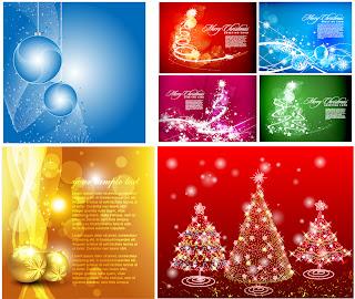 クリスマスを電飾で表現した背景 flash christmas vector イラスト素材