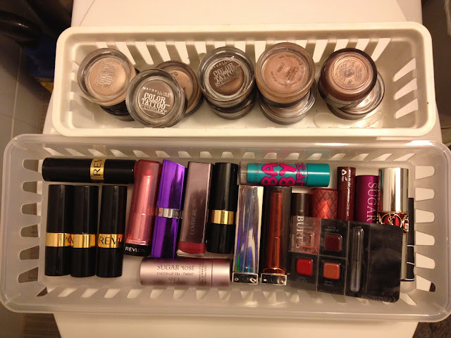 Paint Pots and Lipstick Collection