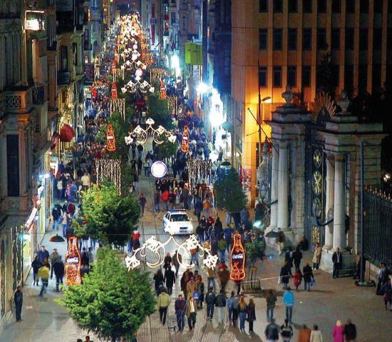 Baños Mas Antiguos De Estambul:Istiklal Street Istanbul