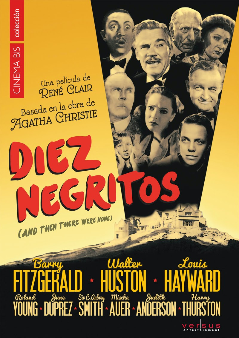"""""""Diez negritos"""" - Agatha Christie . René Clair."""