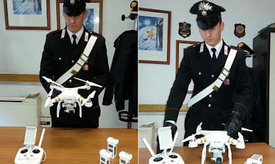 drone denunciato