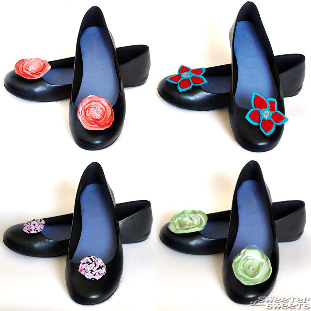 Shoe Clips by Tricia @ SweeterThanSweets on Etsy