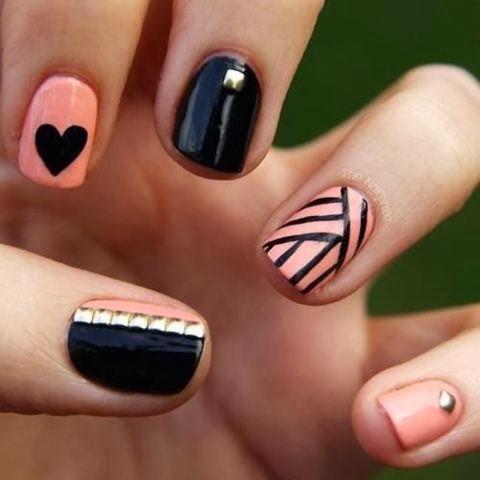 Y en cuanto a ellos he escogido unos cuantos, para darte unas ideas de cómo decorar las uñas. Diseños muy suaves, sofisticados y sexys para que tengas