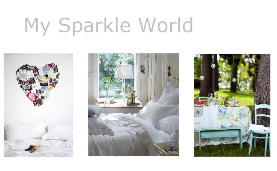 My sparkle world