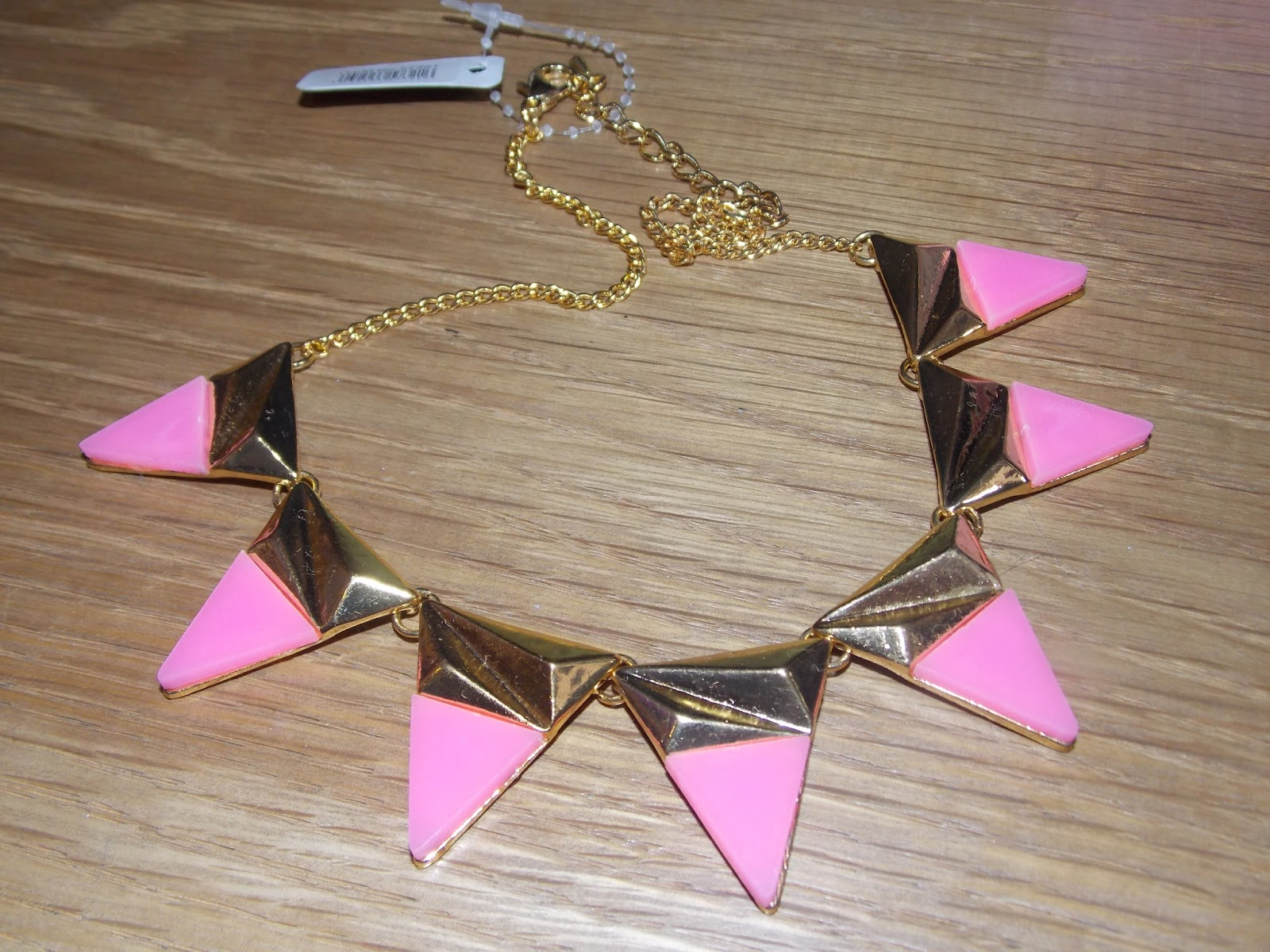 Blondies Style Fix: Bunting Necklace Little Birdie London