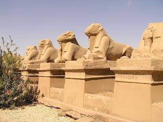 karnak temple luxor city in Egypt