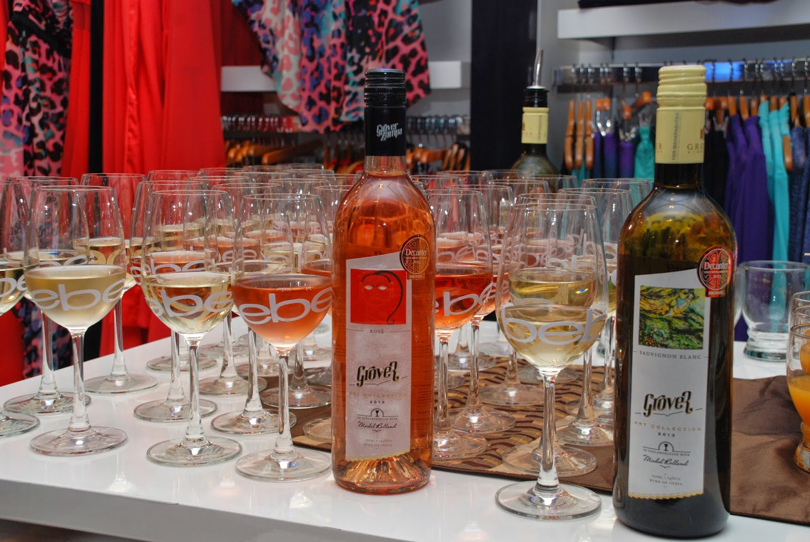 Wine at Bebe Tropic Rendezvous Event, Mumbai by Grover Zampa
