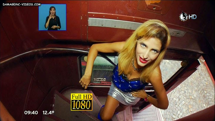 Former Big Brother bauty hot cleavage video in HD