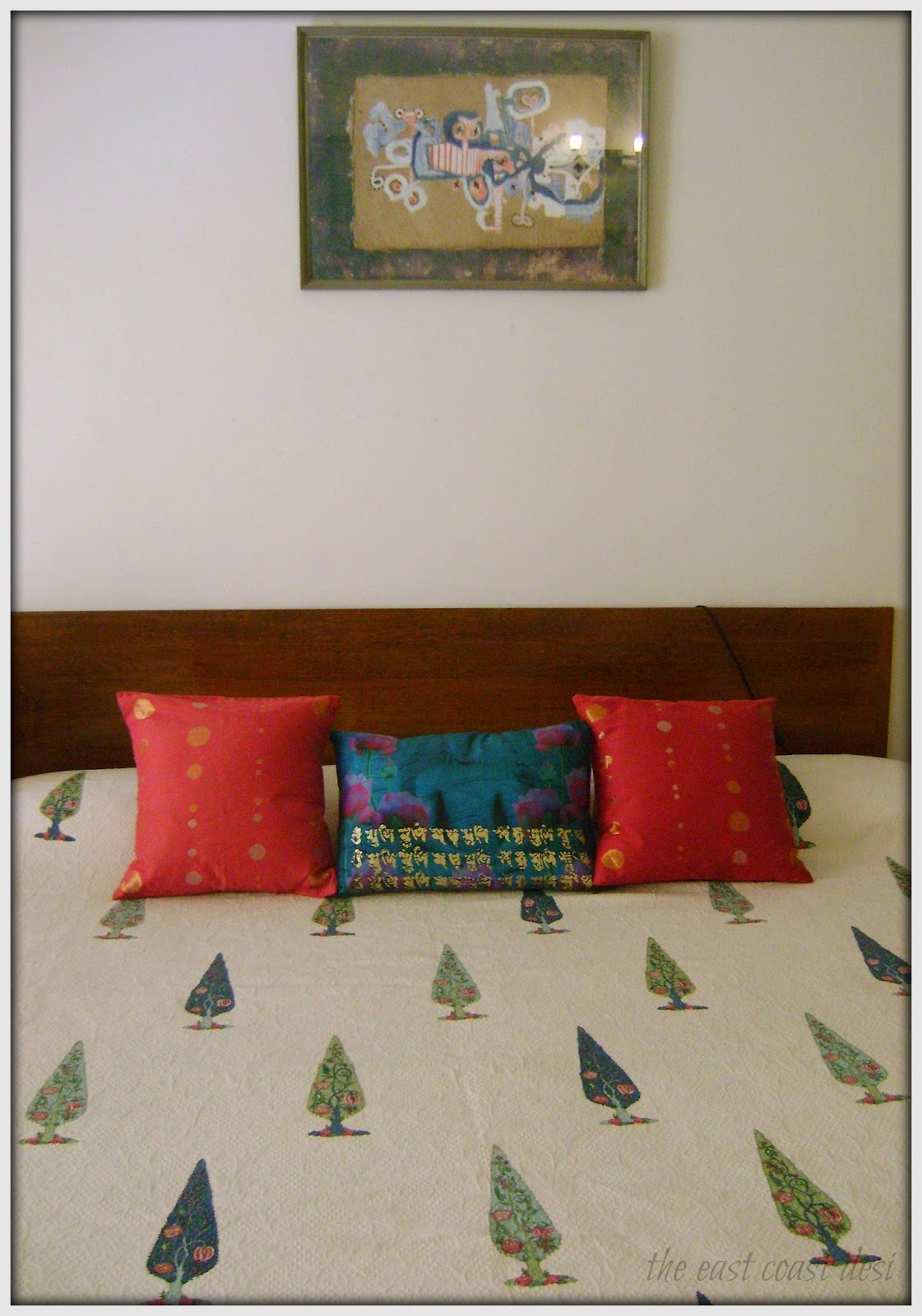 The east coast desi small spaces big on function and for Good earth home decor india