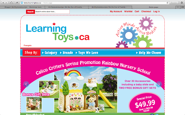 thriftymommastips: #LinkedMoms Learning Toys Canada Twitter Party