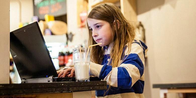 Gadis 7 Tahun Bobol Wi-Fi dalam 11 Menit