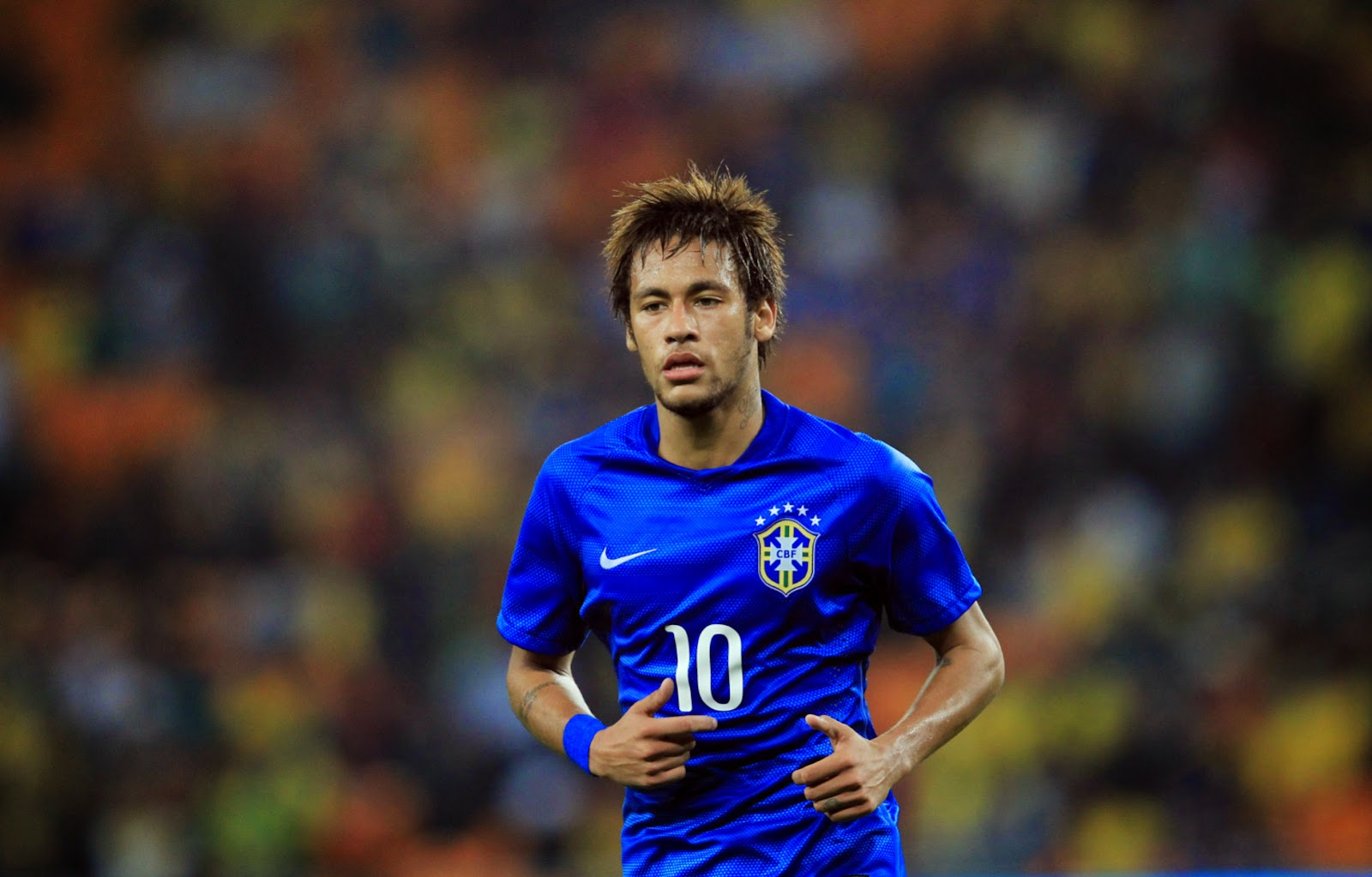 Football World Neymar Jr Brand New Hd Wallpapers 2014