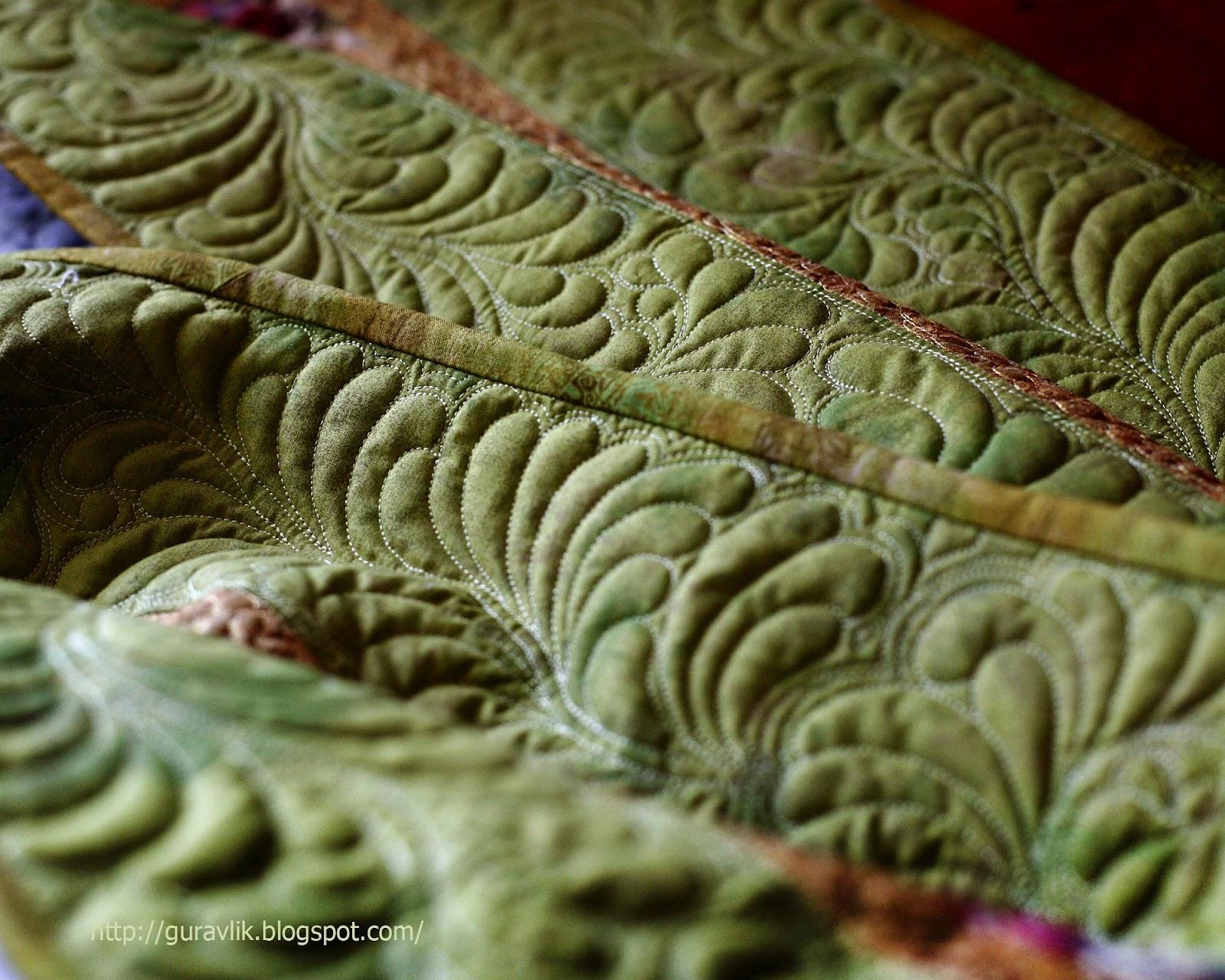Ьно простегать лоскутное одеяло мастер класс фото #4