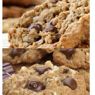 "Resep kue lebaran ""Cookies Choco Chip Oatmeal"""