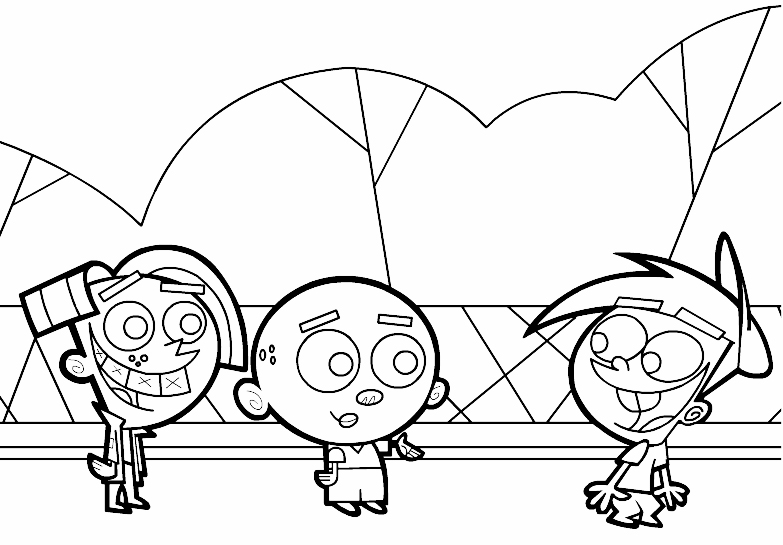 Free Love Quotes The Fairly Odd Parents Coloring Pages