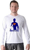 Camiseta Superman Man of Steel 02
